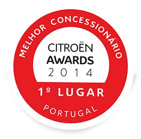 Carlos Simões Citroen Awards 2014, Melhor Concessionário Portugal