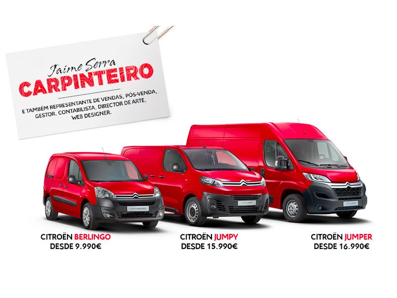 Campanha Comerciais Citroen